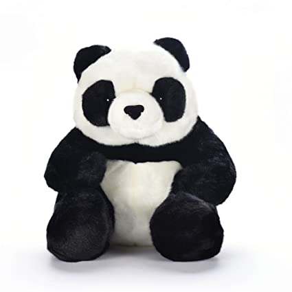 Lazada Stuffed Panda Sitting Dolls Plush Kids Animal Panda Toy Doll Gifts for Boys Girls 10