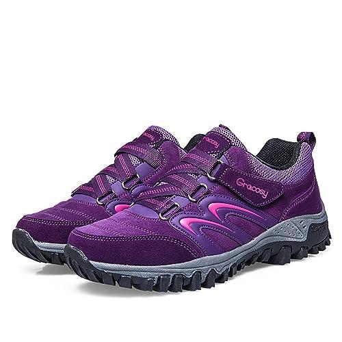 Zapatos Trekking Gracosy Senderismo Aire Mujeres Escalada Al De tshQdCr