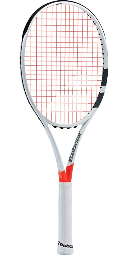 Image Unavailable. Image not available for. Color  Babolat Pure Strike Team  Grey   Orange Tennis Racquet ... 6f3c3ac9a19d2