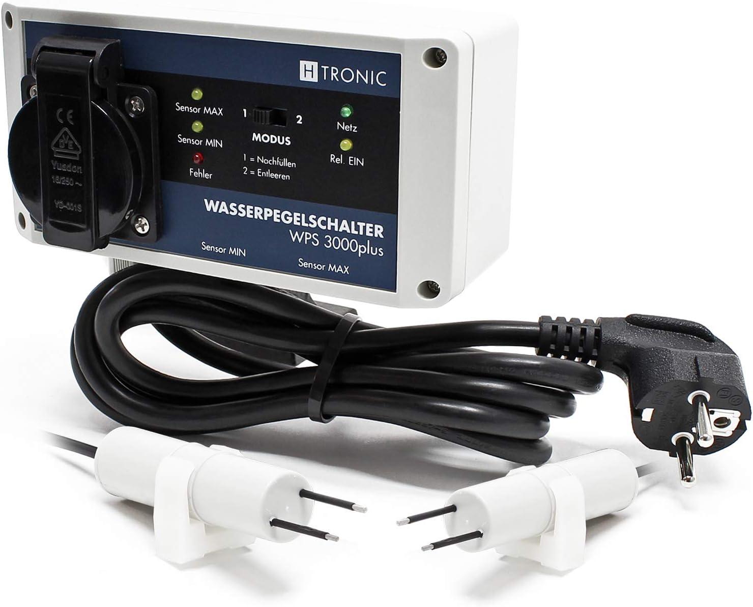 H-Tronic WPS 3000plus elektronischer Füllstands-Differenzschalter mit 2 Sensoren