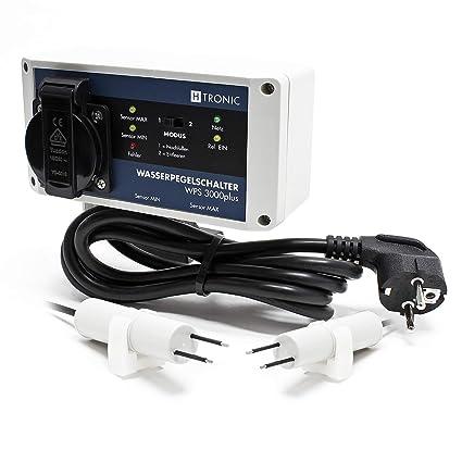 H-Tronic WPS 3000plus Interruptor diferencial nivel agua electrónico detector