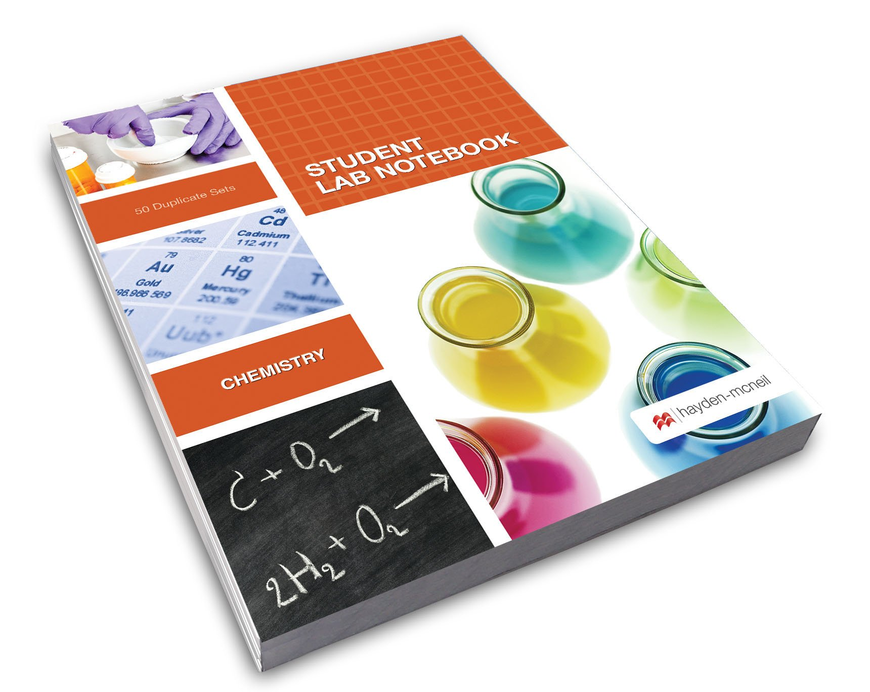 Chemistry Student Lab Notebook: Hayden-McNeil: 9781930882508: Books -  Amazon.ca
