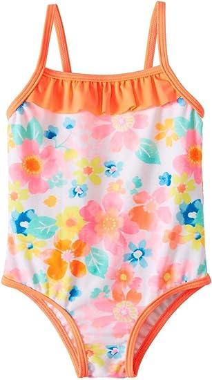 Sociala Infant Toddler Girls One Piece Swimsuit Baby Girl Bathing Suit Swimwear