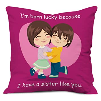 Amazoncom Indibni Sister Gifts Lucky To Have Sister Like You