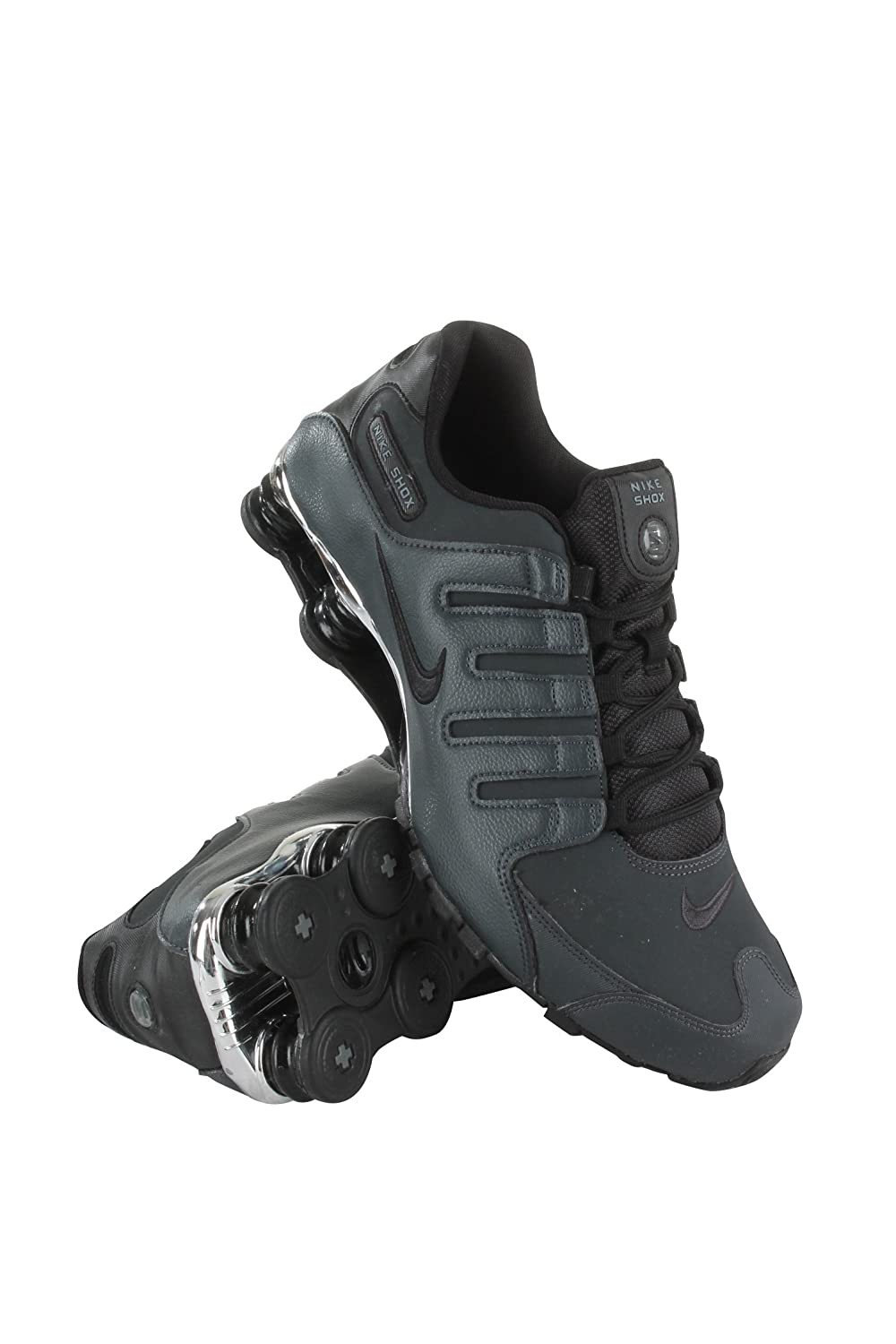 ceaaa114471 536184-003 MEN SHOX NZ PRM NIKE ANTHRACITE BLACK-BLACK-COOL GR
