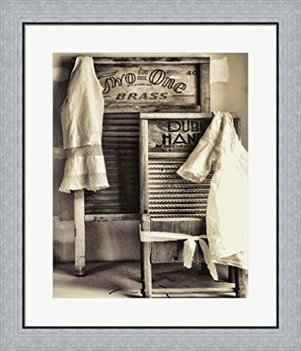 Amazon.com: Laundry by Mindy Sommers Framed Art Print Wall Picture ...