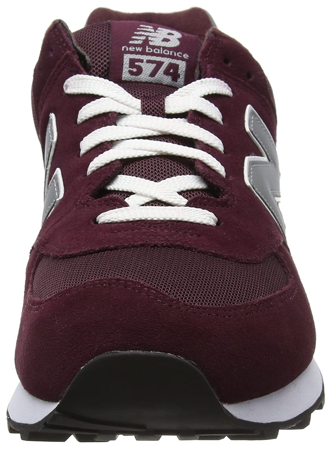 New Balance New M574, Men s Low-Top Sneakers Low-Top Red Red (Burgundy)  5193e29 5e6a9572fb