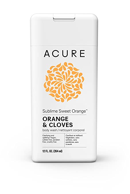Acure Organics Sublime Sweet Orange Body Wash 12 oz