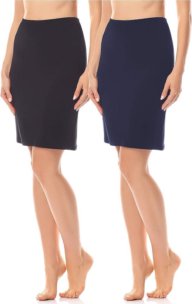 Merry Style Enaguas Minifalda Lencería Ropa Interior Mujer MS10 ...