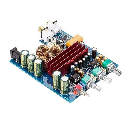 Nobsound 200W Bluetooth 4.2 TPA3116D2 2.0 Channel Digital Power Amp HiFi Stereo Amplifier Board Home Speaker
