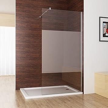 Duschabtrennung walk in Duschwand Seitenwand Dusche 10mm NANO ...