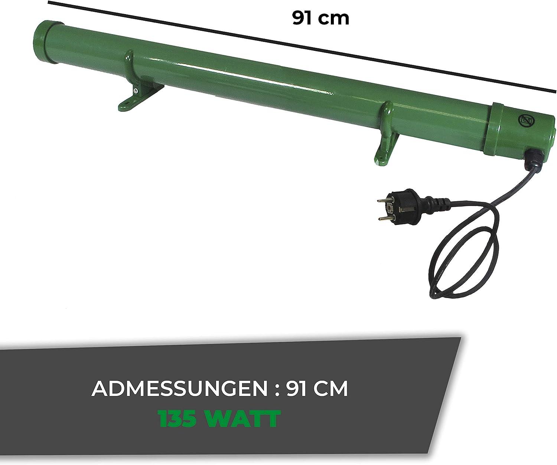 80 Watt Colore: Verde Mini riscaldatore antigelo Elettrico Bio Green