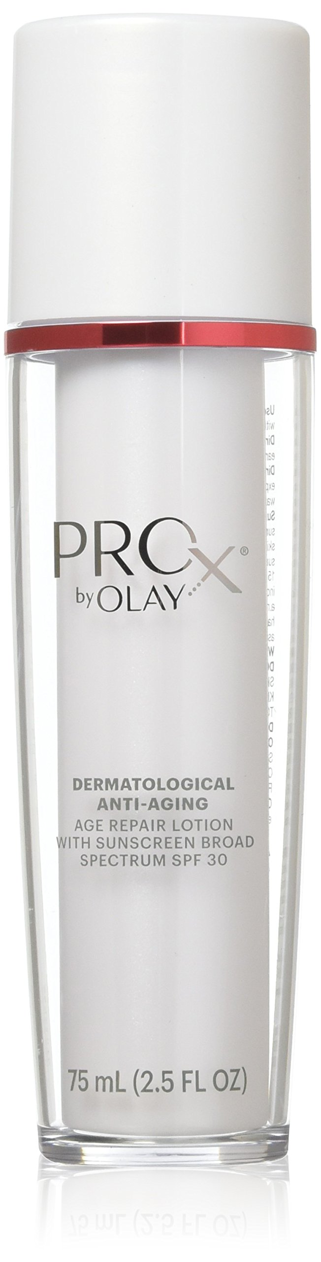 Olay Professional Pro-X Age Repair Lotion with Sunscreen Broad Spectrum SPF 30 2.5 Fl Oz  Packaging may Vary
