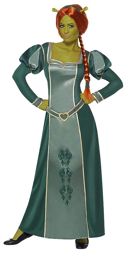 Smiffys - Disfraz de Fiona para mujer, talla UK 16-18 (39452L)