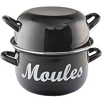 Baumalu - 312852 - Marmite à moules 18cm noire
