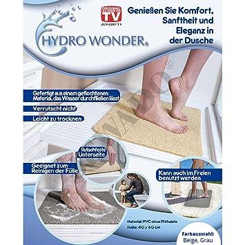 Amazon.de: Hydro Wonder® Luxus Anti-Rutschmatte für Bad und Dusche ...