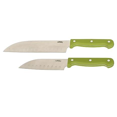 Ginsu Essential Series 2 piezas acero inoxidable cuchillo de ...