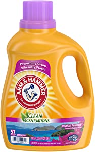 Arm & Hammer Clean Scentsations Tropical Paradise Liquid Laundry Detergent, 57 loads