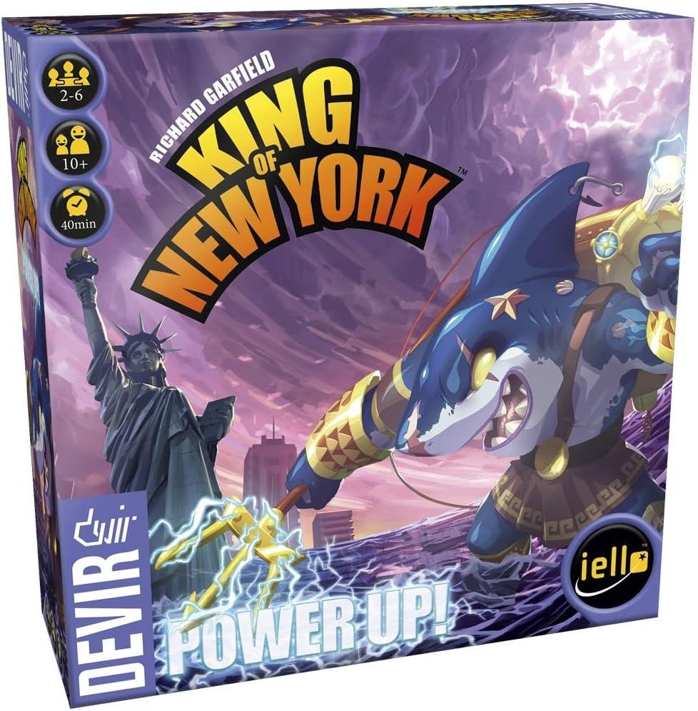 Devir King of New York, Power Up (BGKNYUP): Amazon.es: Juguetes y juegos