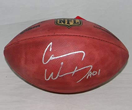 c24fc00b9 Carson Wentz Signed Autographed Wilson NFL Duke Football Philadelphia Eagles  - Certified Certified