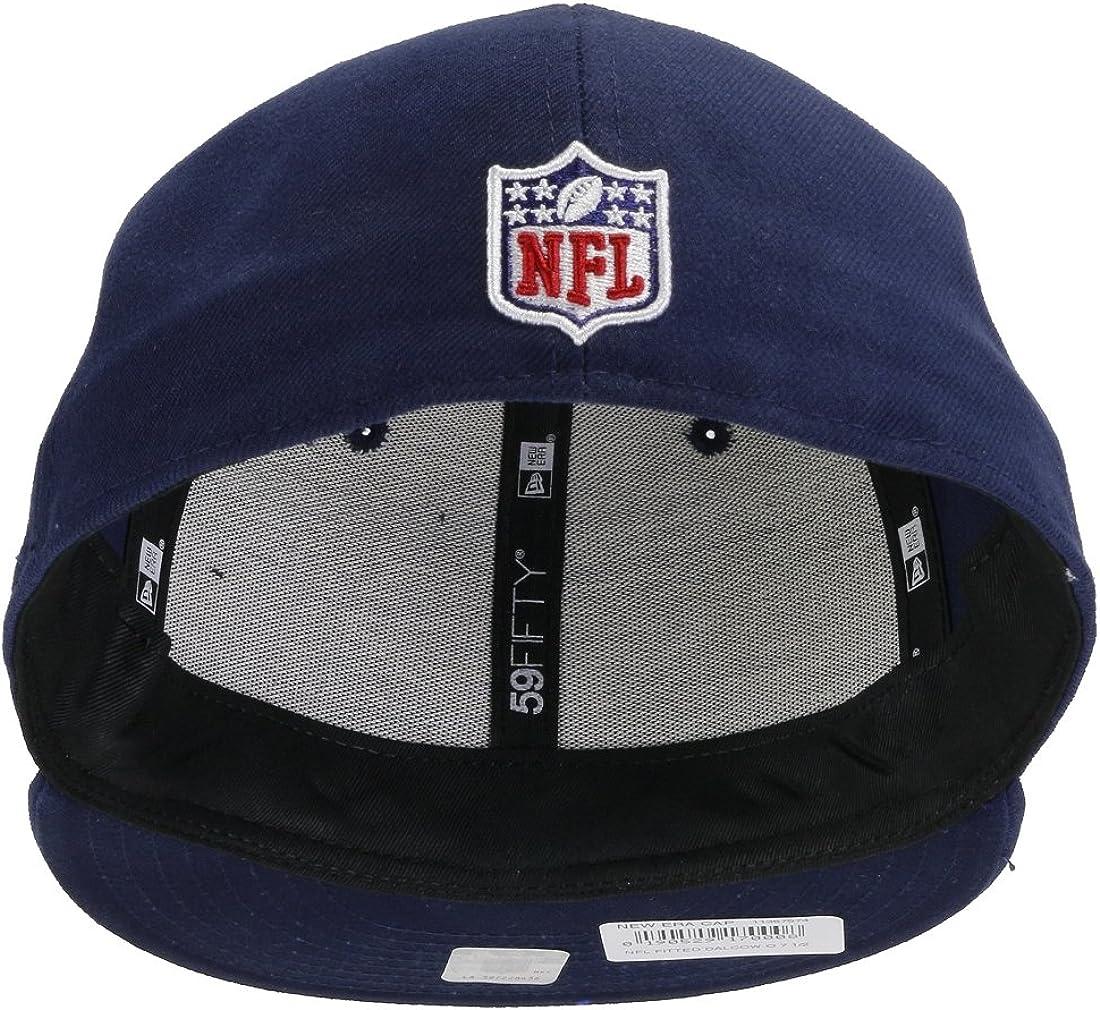 Gorra New Era Dallas Cowboys 59fifty NFL Football 2018 en azul oscuro//azul marino