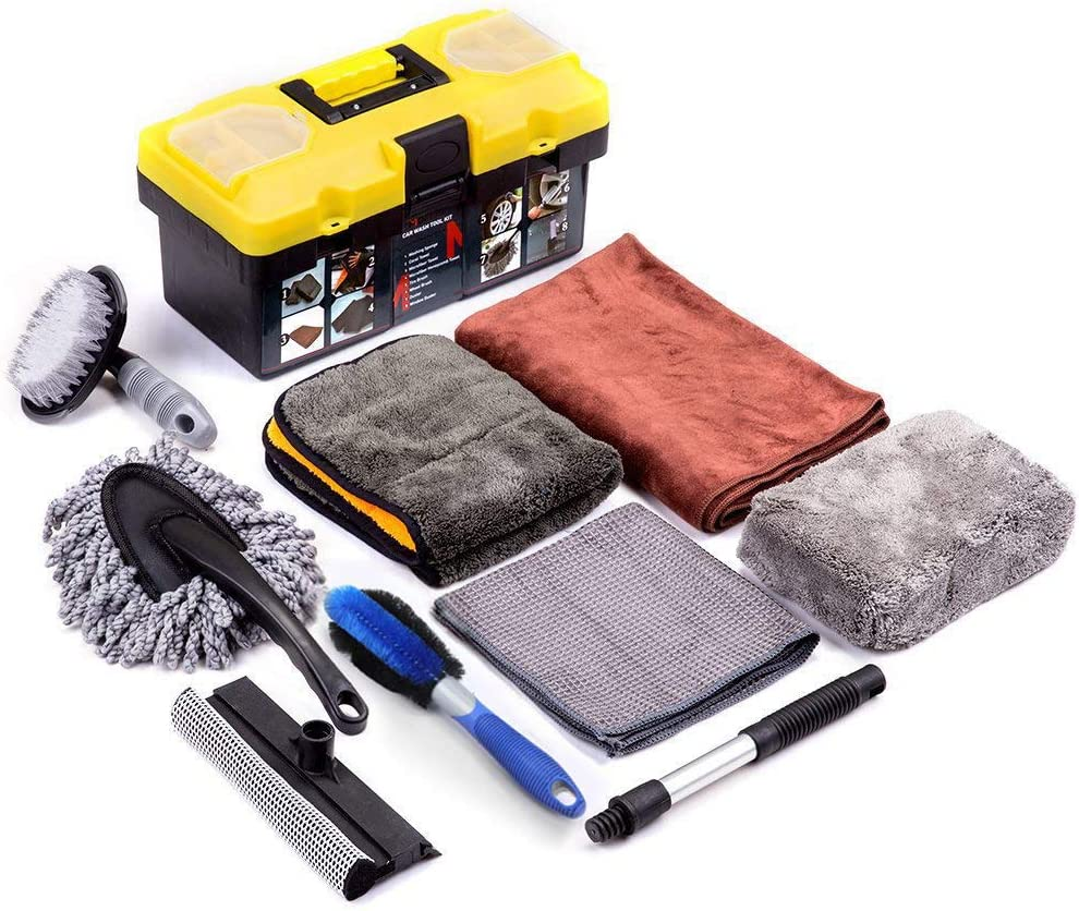 Mofeez Nine-Piece Car Cleaning Kit
