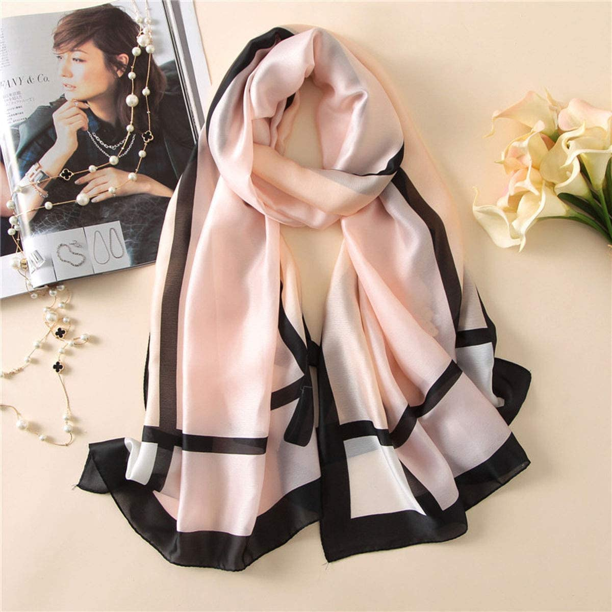 Fashion Scarves For Men Women Winter Warm Shawl Skillet Soft Scarf