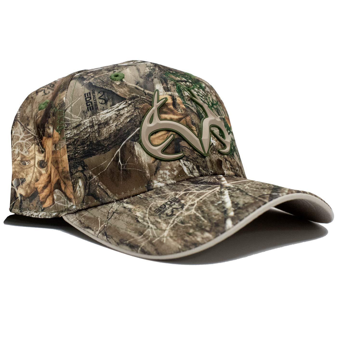 Realtree Edge Camo Performance Fitted Hat (Small/Medium) by Realtree