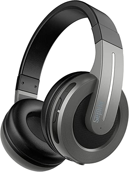Amazon Com Sephia S6 Wireless Headphones Over Ear Bluetooth Headphone Set With Powerful Bass Adjustable Headband Built In Mic And Volume Controls Suitable For All Bluetooth Enabled Devices Home Audio Theater