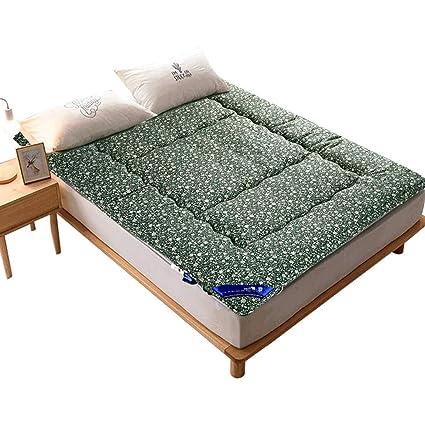 LJ Almohadilla para Dormir del Piso del hogar Plegable del colchón Tatami Verde - Tamaño Opcional
