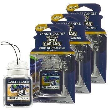 Yankee Candle Car Jar Ultimate Auto & Home Odor Neutralizing