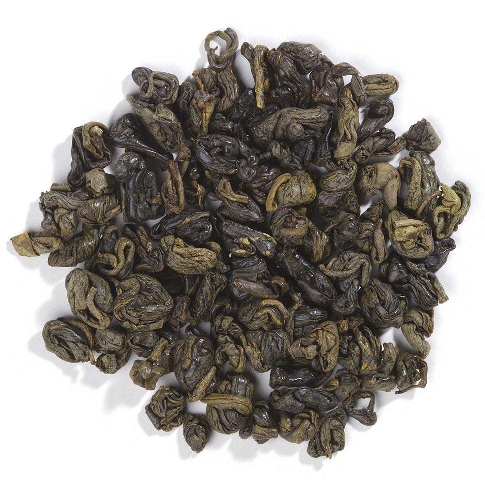Frontier Co-op Organic Fair Trade Certified Gunpowder Green Tea, Special Pin Head, 1 Pound Bulk Bag