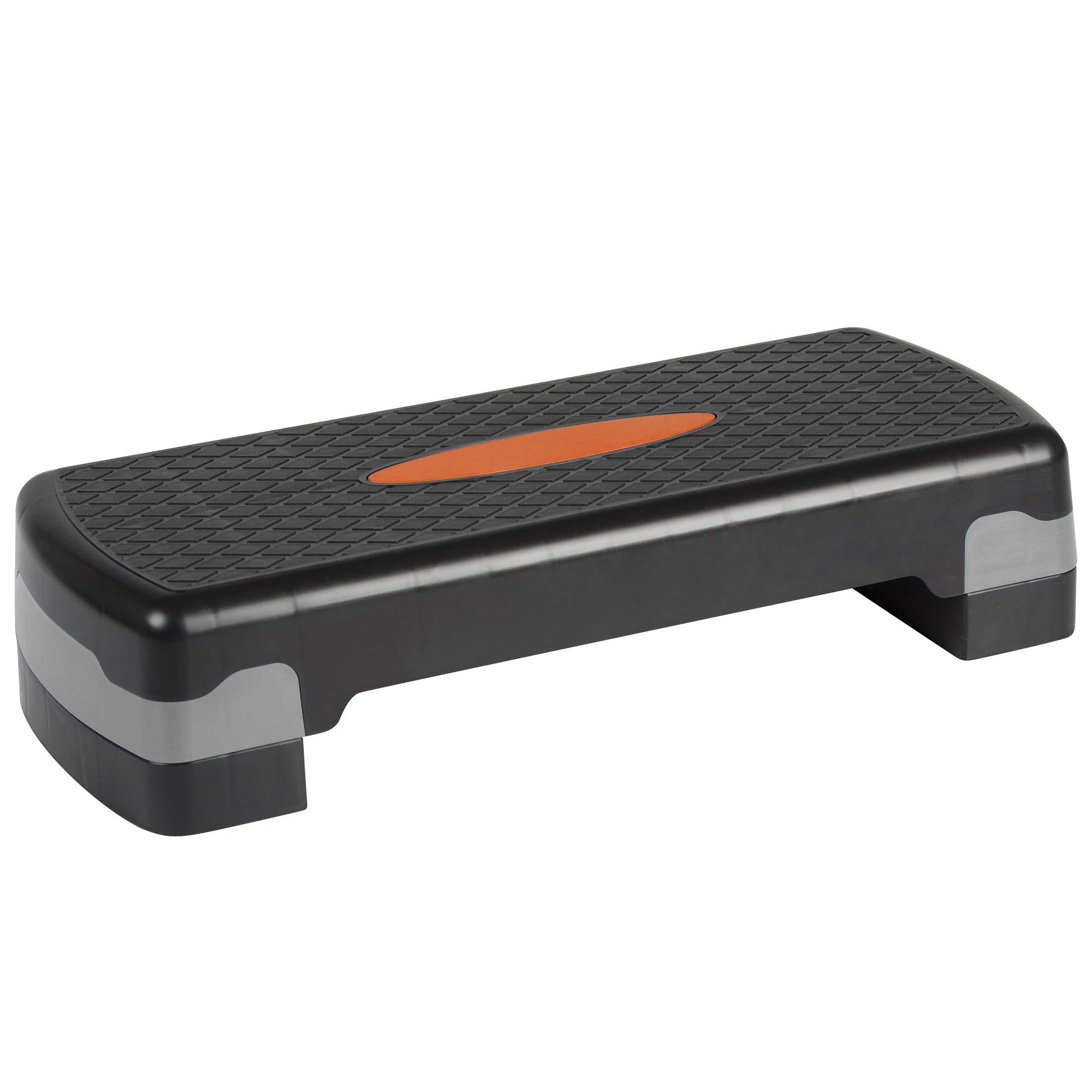 Ultrasport Step d'aérobic, réglable en hauteur, orange/noir product image