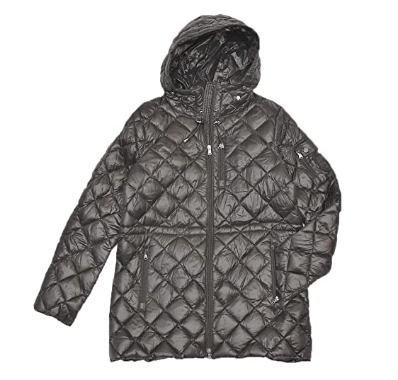 Lauren Ralph Lauren Women\u0027s Quilted Packable Down Puffer Jacket (S, GREY)