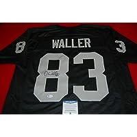 $277 » DARREN WALLER Las Vegas Raiders signed Jersey Beckett Witnessed COA 2 - Autographed NFL Jerseys