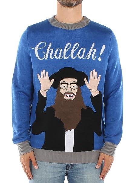 Jewish Christmas Sweater.Tipsy Elves Men S Challah Funny Hanukkah Sweater Ugly Hanukkah Sweater