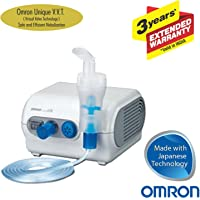 Omron NE C28 Compressor Nebulizer For Child and Adult With Virtual Valve Technology Ensuring Optimum Medicine Delivery to the Raspiratory System