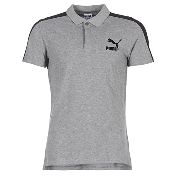 8a850540 Puma Archive T7 Polo, Polo Shirt: Amazon.co.uk: Clothing
