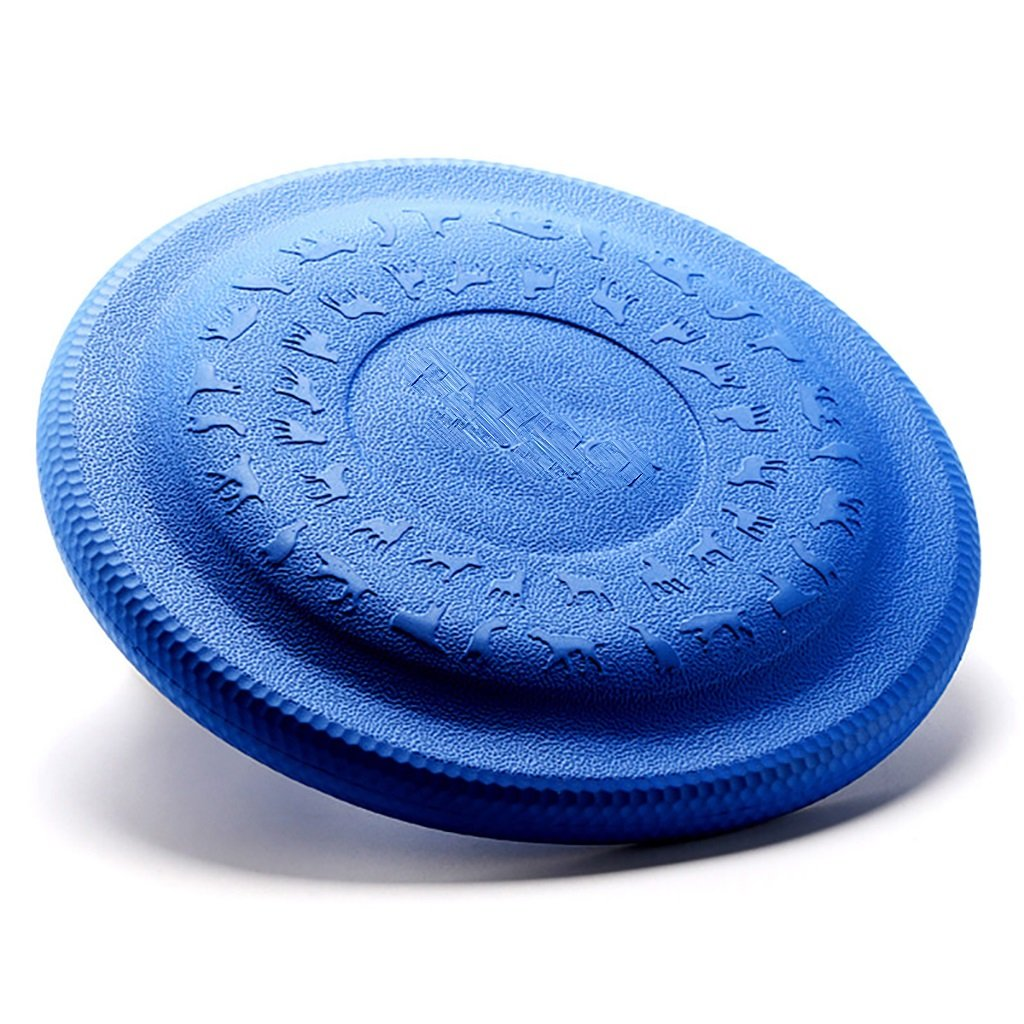bluee Small bluee Small YONGLIANG Pet Supplies Dog Resistant To Bite Frisbee Dog UFO Pet Training Toy golden Samurai Husky Frisbee Frisbee 2 colors ( color   bluee , Size   Small )