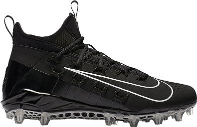 138b243661e40 Nike Alpha Huarache 6 Elite Lax Mens 880409-010 Size 8 Black White
