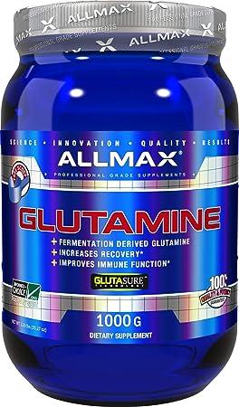 ALLMAX Nutrition 100 Pure Micronized Glutamine Powder, 1000g