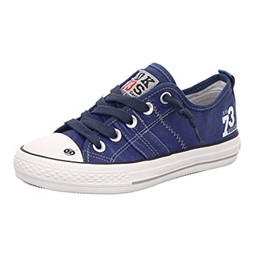 106a60b07a22 Dockers by Gerli Girls  38ay602-790-660 Trainers blue navy  Amazon ...