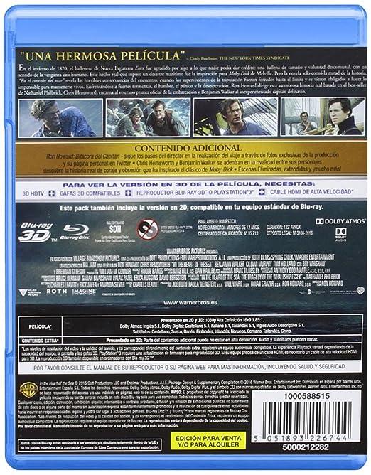 En El Corazon Del Mar (Blu-Ray 3d/Bd) [Blu-ray]: Amazon.es ...