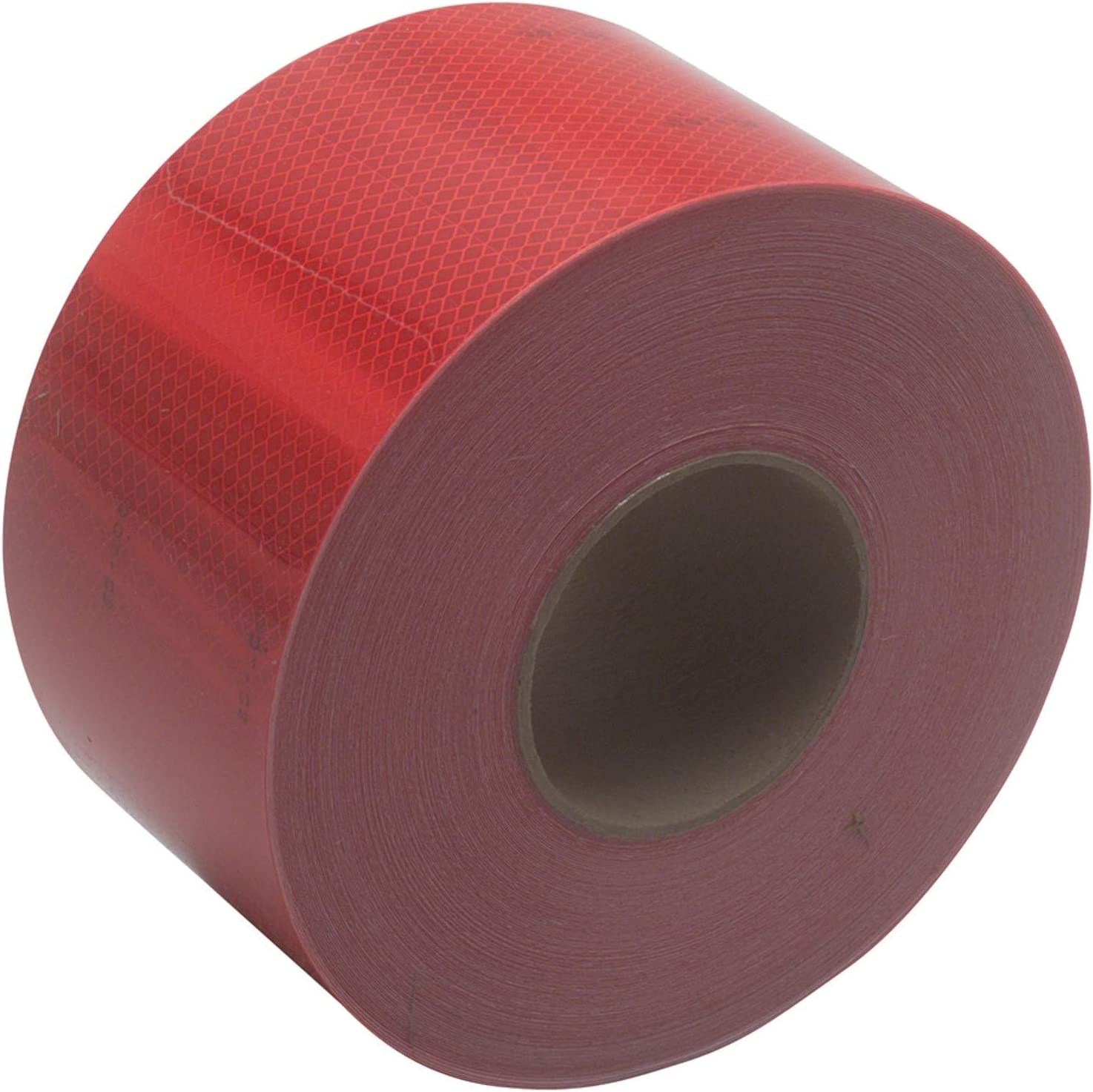 """Safe Way Traction 4 X 10 Foot Roll of 3M 983 Series Diamond Grade Conspicuity Trailer DOT-C2 Reflective Safety Tape Red /& White 6/""""// 6/"""" Pattern 983-326-4"""