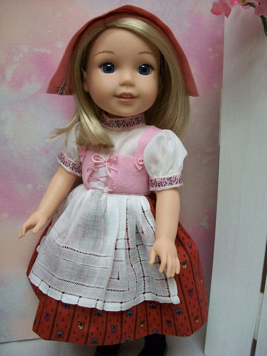 """/""""Storybook/"""" #1 Wellie Wisher PATTERN Heidi and Little Red Riding Hood"""