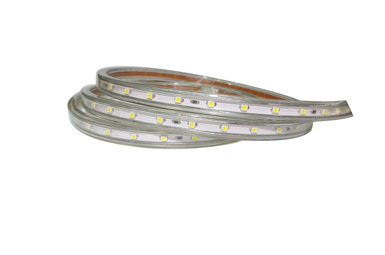 8 Meter Professioneller Kaltweißer LED Streifen (60 230V) LED m, IP68, 230V) (60 - mit Eurostecker 941ceb