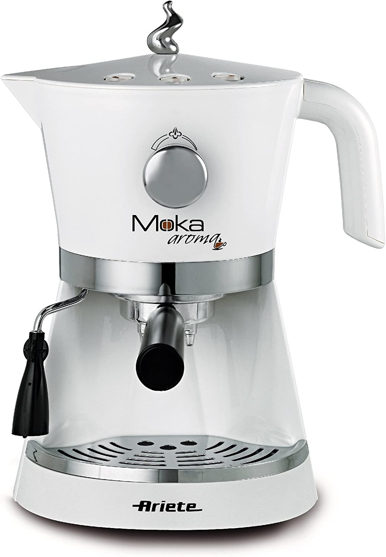Macchina caffe/' espresso Ariete Moka aroma caffè nera cialde 850w 1337