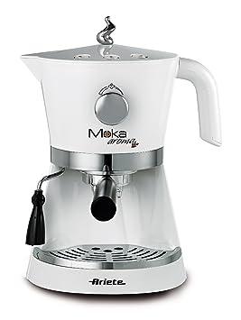 DeLonghi Ariete 1337 Moka Aroma - Máquina espresso (funciona con café y con monodosis, 15 bares, boquilla de vapor, 850 W): Amazon.es: Hogar