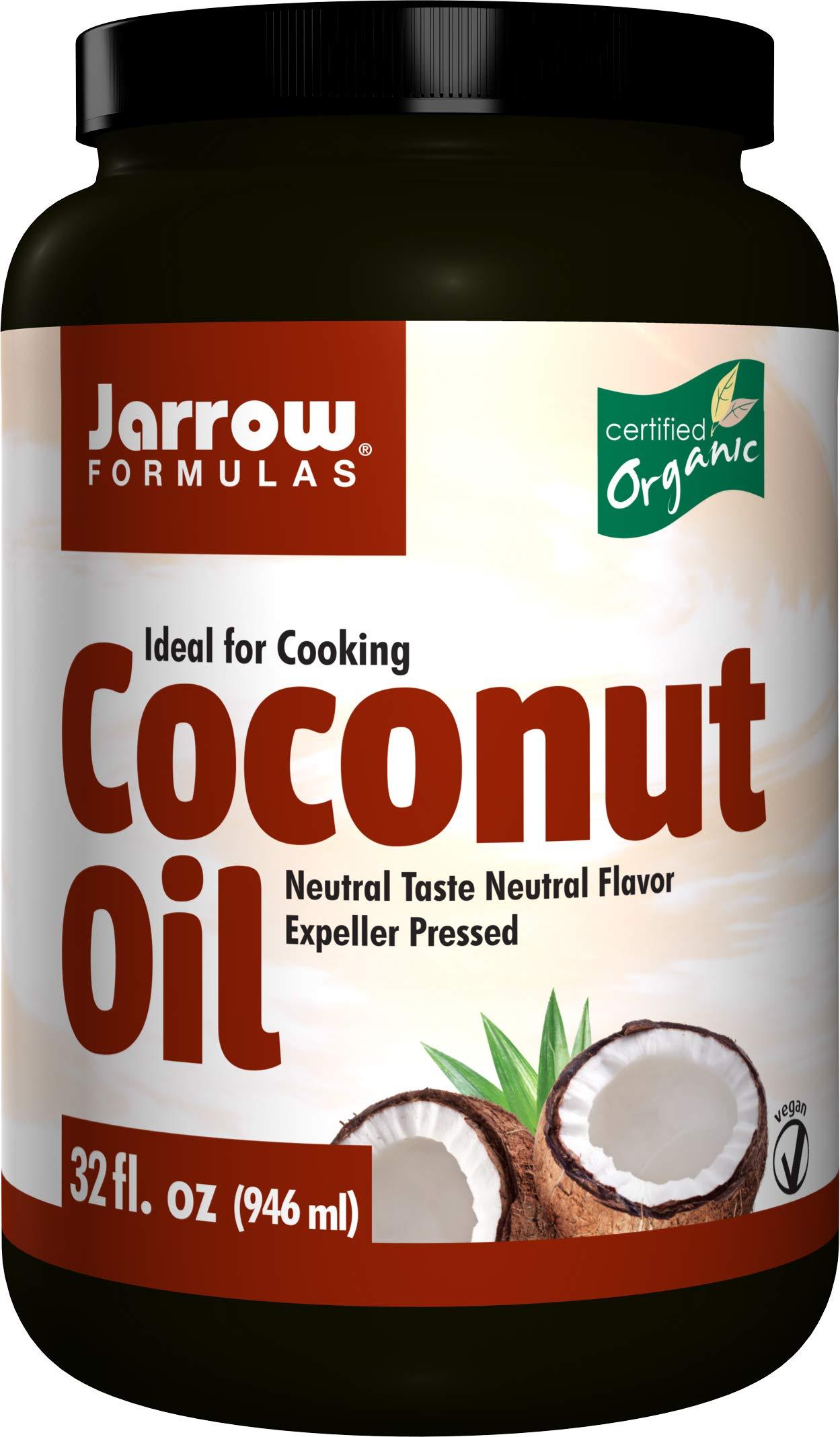 Amazon Com Jarrow Formulas Coconut Oil 100 Organic