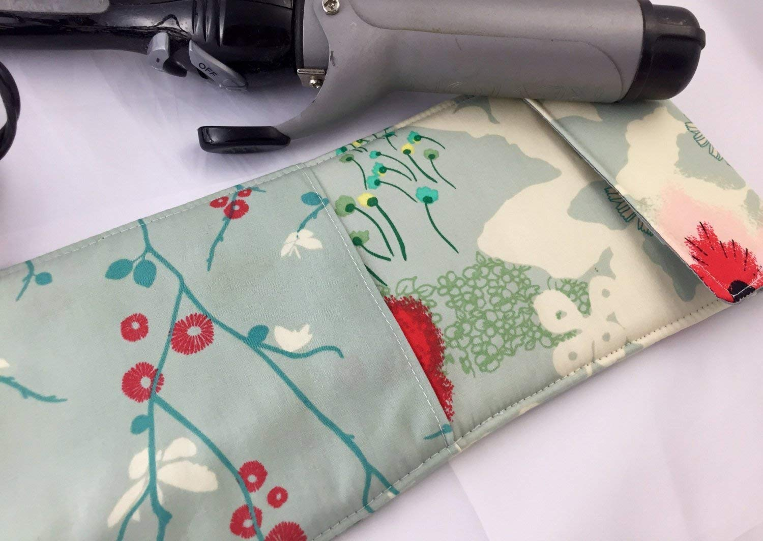 Curling Iron Holder or Flat Iron Case Dreamscape in Moon